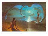 Flügel der Liebe Giclée-Premiumdruck von S. Pearson