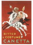 Canetta, Bitter e Costume Giclee Print by Leonetto Cappiello