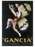Gancia, Gran Spumenta Giclee-trykk av Leonetto Cappiello