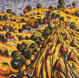 GOLDEN HARVEST Collectable Print by CHARLES MONTEITH WALKER