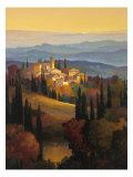 Hills of Chianti Premium Giclee Print by Max Hayslette