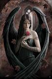 Angel Rose Kunstdruck von Anne Stokes