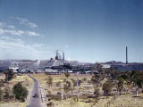 Mount Isa's Mine Produces 4,000 Tons of Lead Bullion Monthly Photographic Print by Howell Walker