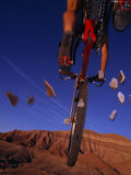 Ciclismo de montaña Lámina fotográfica por Bill Hatcher
