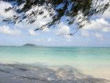 Kailua Beach, Oahu Island, Hawaiian Islands Fotografisk tryk af Charles Kogod