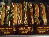 Sandwiches for Sale Fotografisk tryk af Paul Chesley