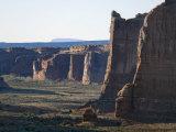 Courthouse Towers Region in Arches National Park, Utah Reproduction photographique par Scott Warren