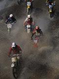 Flat River Grand Prix Motorcross Race Photographic Print by Randy Olson