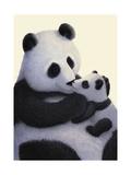 Panda Bear and Cub Pósters