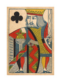 King of Clubs Card Posters