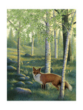 Fox in the Forest Affiche