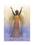 Angel with Arms Raised Affiches