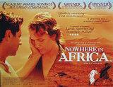 Ingenstans i Afrika Posters