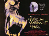 En amerikansk varulv i Paris Poster