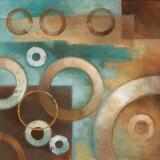 Circular Motion I Prints by Elaine Vollherbst-Lane