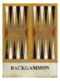 Backgammon Affiches par Norman Wyatt Jr.