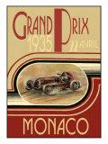 Monaco 1935- Poster Prints by Ethan Harper
