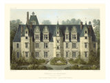 Petite French Chateaux III Posters by Victor Petit