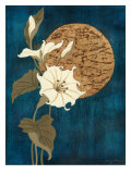 Moonlit Blossoms II Premium Giclee Print by Nancy Slocum
