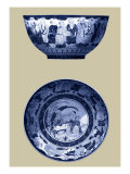 Porcelain in Blue and White II Prints