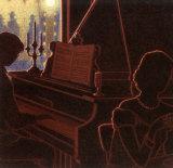 Piano Bar III Prints by Denis Nolet