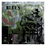 Blues II Poster von Jean-François Dupuis