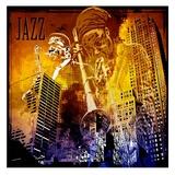 Jazzi IV Posters av  Jefd