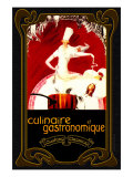 Culinaire et Gastronomique Giclée-Druck von Kate Ward Thacker