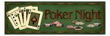 Poker Night Giclée-Druck von Kate Ward Thacker