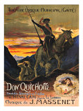 Don Quichotte Giclee Print by S. Rochegrosse