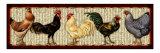 Fowl Parade Giclée-Druck von Kate Ward Thacker