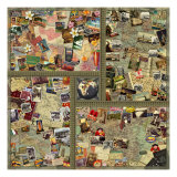 Around the World in 80 Giclée-Druck von Kate Ward Thacker