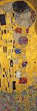 De kus, ca. 1907 (detail) Posters van Gustav Klimt