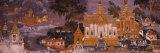 Ramayana Murals in a Palace, Royal Palace, Phnom Penh, Cambodia Fotografisk trykk