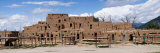 Mud Houses in a Village, Taos Pueblo, New Mexico, USA Fotografie-Druck