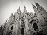 Lombardy, Milan, Piazza Duomo, Duomo Cathedral, Defocussed, Italy Photographic Print by Walter Bibikow