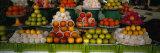 Fruits at a Market Stall, Bukhara, Uzbekistan Stampa fotografica
