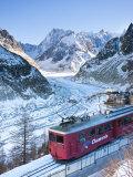 Chamonix-Mont-Blanc, French Alps, Haute Savoie, Chamonix, France Reproduction photographique par Gavin Hellier