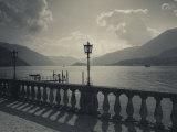 Lombardy, Lakes Region, Lake Como, Bellagio, Grand Hotel Villa Serbelloni, Lakefront, Italy Fotoprint van Walter Bibikow
