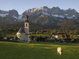 Going, Wilder Kaiser Mountains, Tirol, Austria Stampa fotografica di Doug Pearson