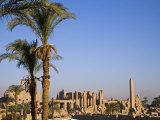 Panorama over the Sprawling Ruins of Karnak Temple, Luxor Photographic Print by Julian Love