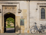 Oxfordshire, Oxford, High Street, Magdalin College, England Stampa fotografica di Jane Sweeney