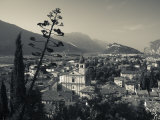 Trentino-Alto Adige, Lake District, Lake Garda, Arco, Collegiata Church, Italy Photographic Print by Walter Bibikow