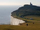 East Sussex, Beachy Head Is a Chalk Headland on South Coast of England, England Lámina fotográfica por David Bank