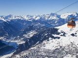 Verbier, Valais, Les Quatre Vallées, Suisse Reproduction photographique par Gavin Hellier
