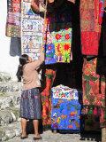Market, Chichicastenango, Guatemala, Central America Photographic Print by Wendy Connett