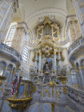 Interior of Frauenkirche, Dresden, Saxony, Germany, Europe Photographic Print by Robert Harding