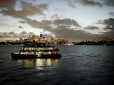 Ferry Sailing across Sydney Harbour, Sydney, New South Wales, Australia, Pacific Photographic Print by  Purcell-Holmes
