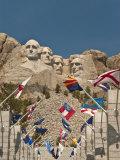 Mount Rushmore National Monument, South Dakota, United States of America, North America Reproduction photographique par John Woodworth
