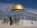 Dome of the Rock, Jerusalem, Israel, Middle East Reproduction photographique par Michael DeFreitas